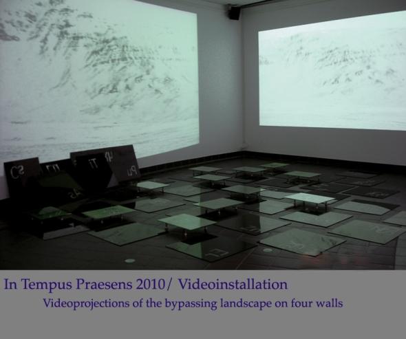 2010.InTempusPraesens /  VideoInstallation, Galleria Malm
