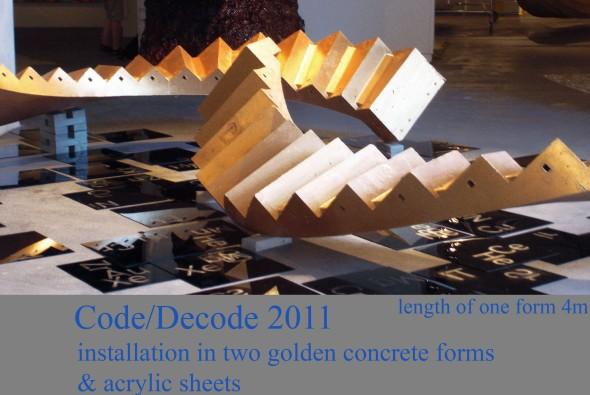 2011.Code&Dcode Mäntän kuvataideviikot