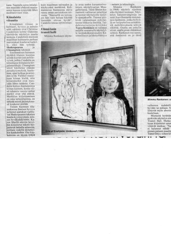 1995 Galleri Sculptor Kolme Huonetta 1