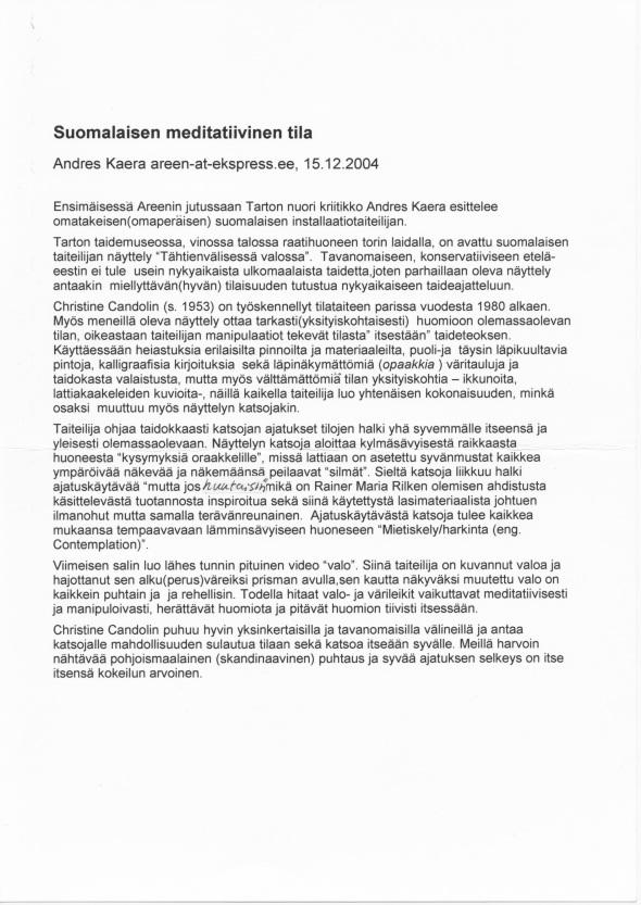 2004 Eesti Express