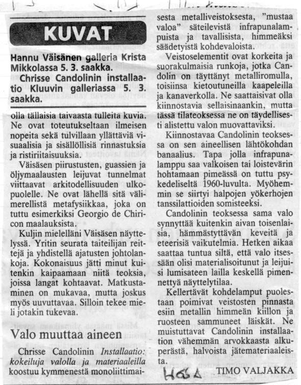 A.1989 Kluuvin galleria 1