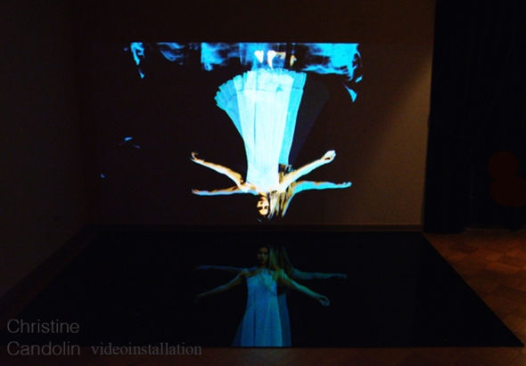 The Dance 2014 / videoinstallation 4m x 3 m